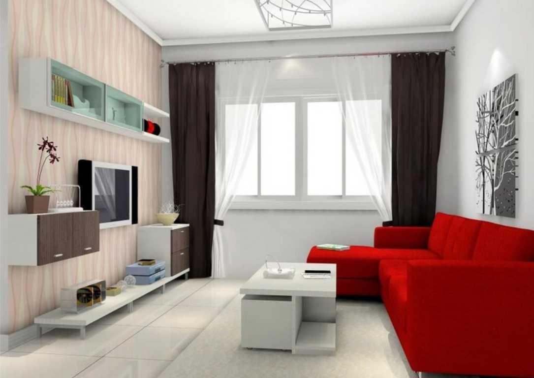 Dekorasi Ruang TV Sempit