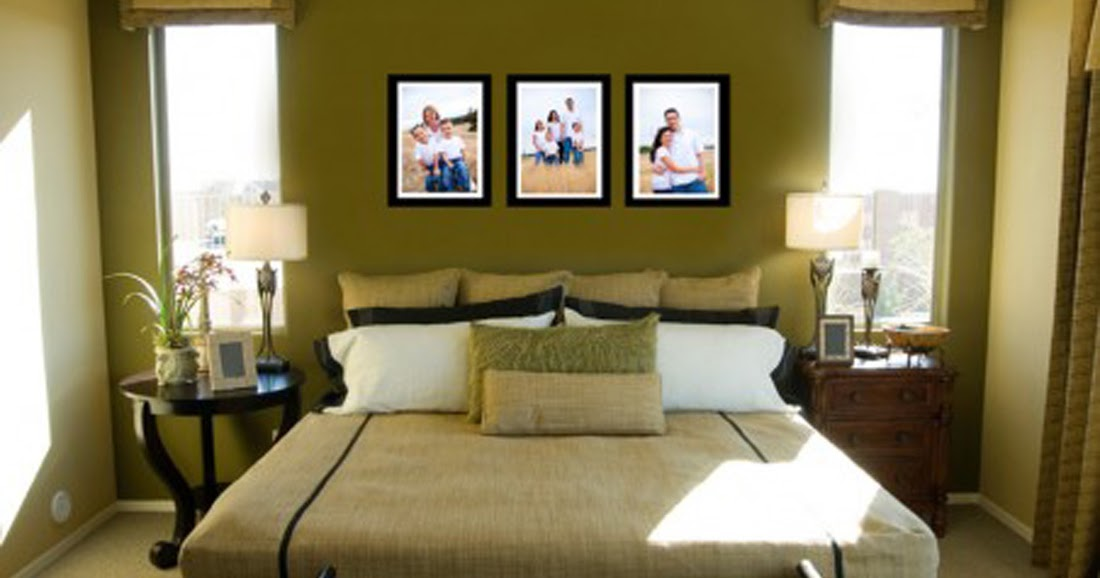 Home Interior Designs: Small Master Bedroom Decorating Ideas