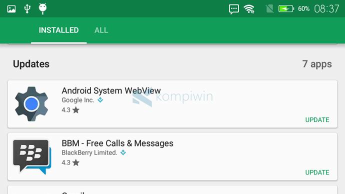 cara matikan fitur update otomatis aplikasi android