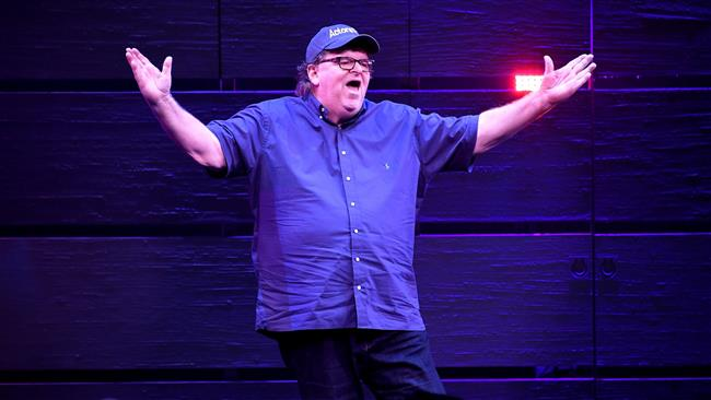 American documentary filmmaker and political commentator Michael Moore says US President Donald Trump will 'get us all killed'