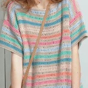 長編みの編み方,how to crochet couble stitch,长针的钩法,