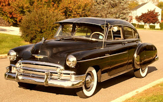 1950 Chevrolet Fleetline Deluxe Front Left