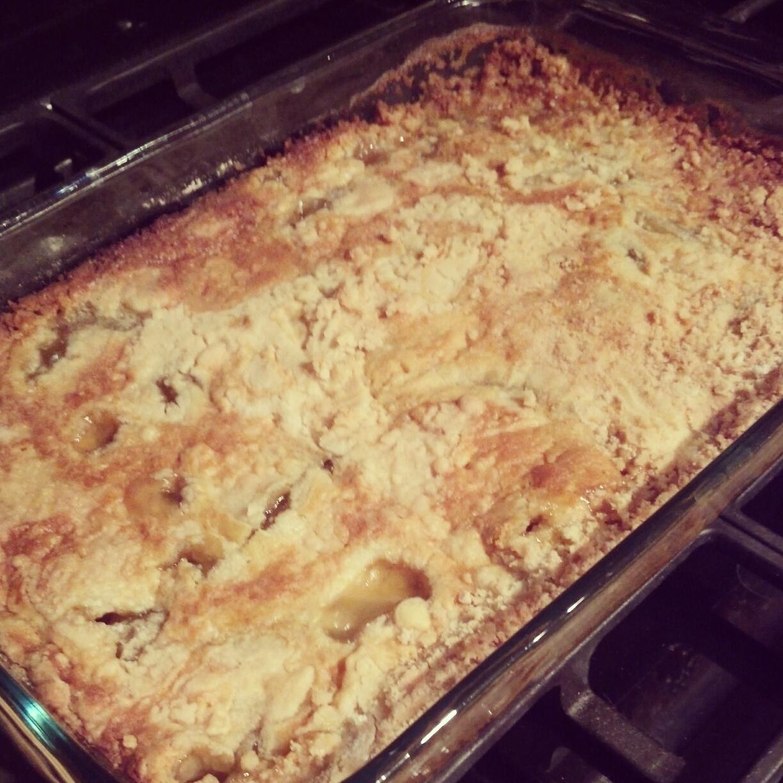 Apple Cobbler White Cake Mix