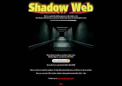 situs mengerikan di dalam deep web