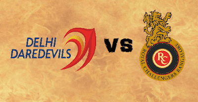 DD vs RCB Head to Head IPL 2017 Match 56