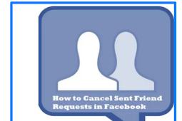 Cancel Facebook Friend Request