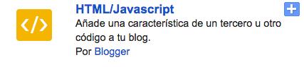 gadget html blog