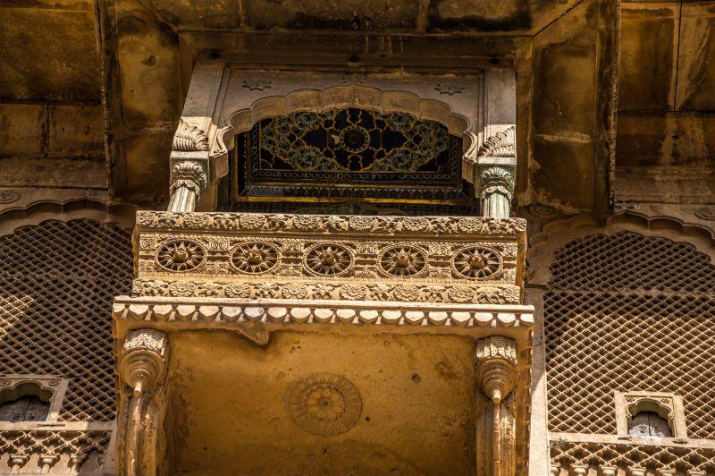 Beautiful Balcony at Raja Ka Mahal - Jaisalmer Fort Jaisalmer