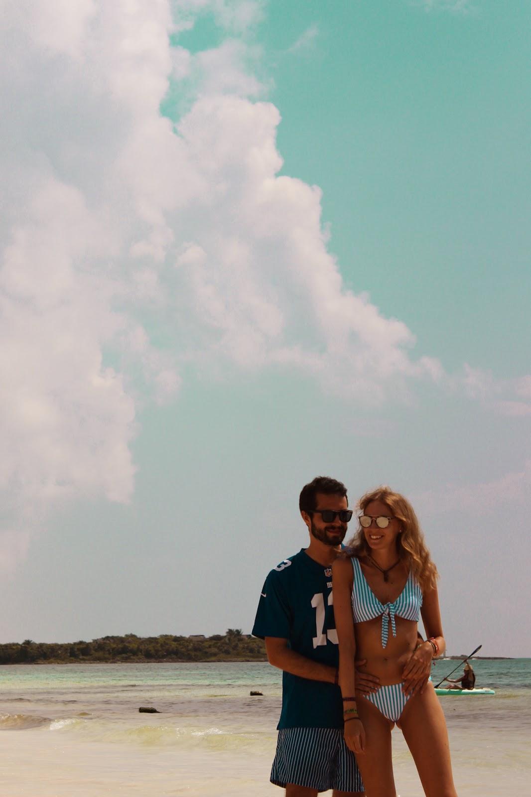 catalonia royal tulum bikini rayas nudo