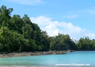 Keindahan Pantai Garango Pulau Morotai Yang Begitu Masih Perawan