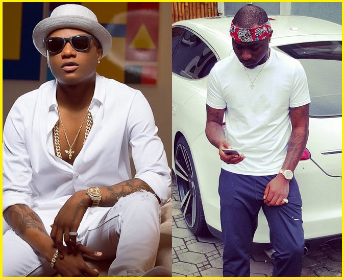 Davido is beefing Wizkid? Nah, not at all (see proof)
