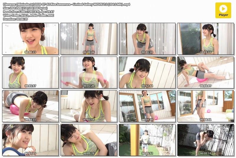 [Minisuka.tv] 2020-07-02 Risa Sawamura &Limited Gallery MOVIE 7.2 [204.2 Mb]