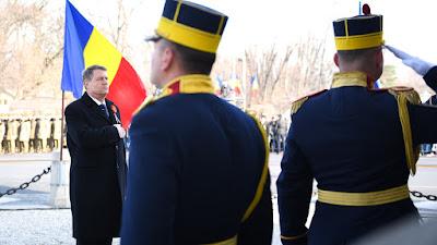 Klaus Iohannis, román nemzeti ünnep, 1918-as egyesülés, Románia