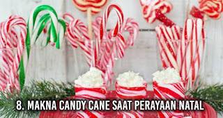 Makna Candy Cane saat perayaan Natal
