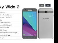 Galaxy Wide 2 dengan OS Android Nougat