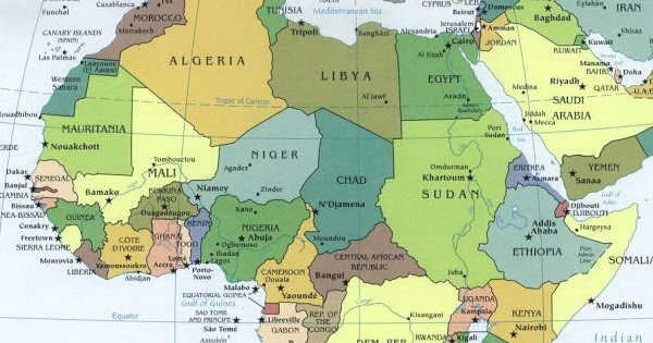 Cartina Africa Del Nord.Ripasso Facile Riassunto Sull Africa