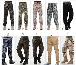 agen Celana Panjang Army Loreng Cargo Camo Militer