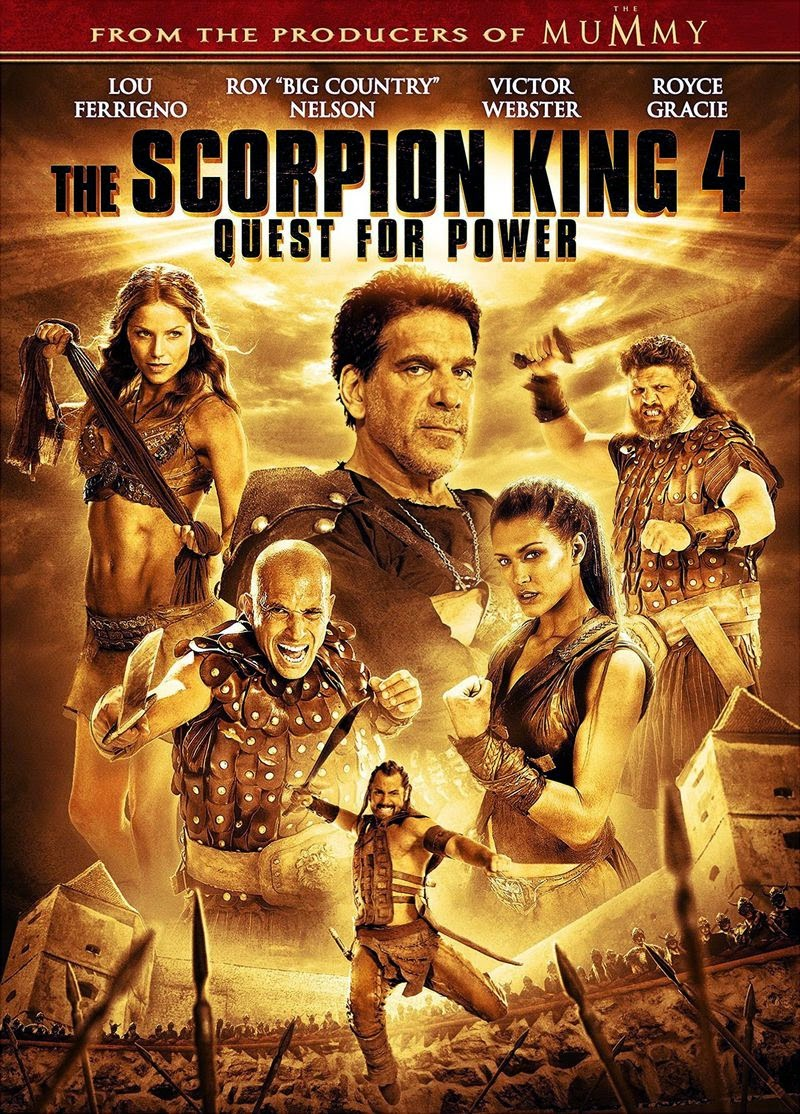 The Scorpion King 4: Quest for Power (2015) ταινιες online seires oipeirates greek subs
