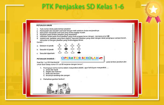 PTK Penjaskes SD Kelas 1-6