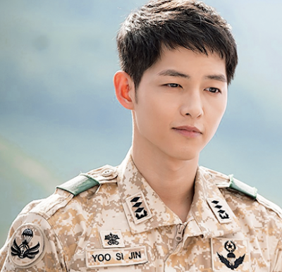 Song Joong Kie Pemeran Yoo Si Jin di Serial Descendants of the Sun