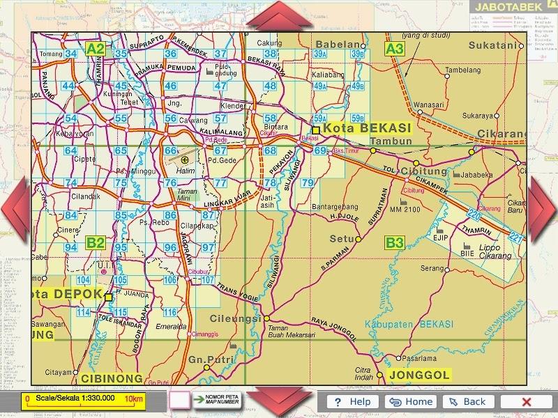 Peta Lokasi Perumahan Citra Indah Kawasan Kota Mandiri ...