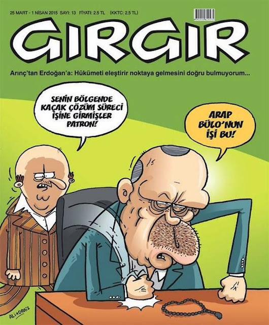 tayyip erdoğan karikatürü