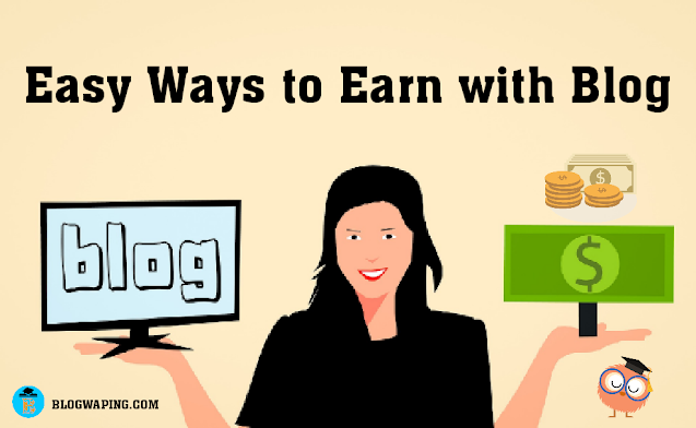 Earn Money From A Blog