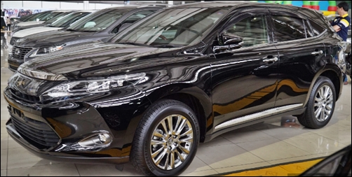 2018 toyota harrier price review mid size suv toyota update review. Black Bedroom Furniture Sets. Home Design Ideas