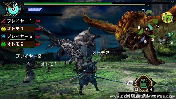 Monster Hunter Portable 3rd HD Ver PS3 ISO Screenshots #4