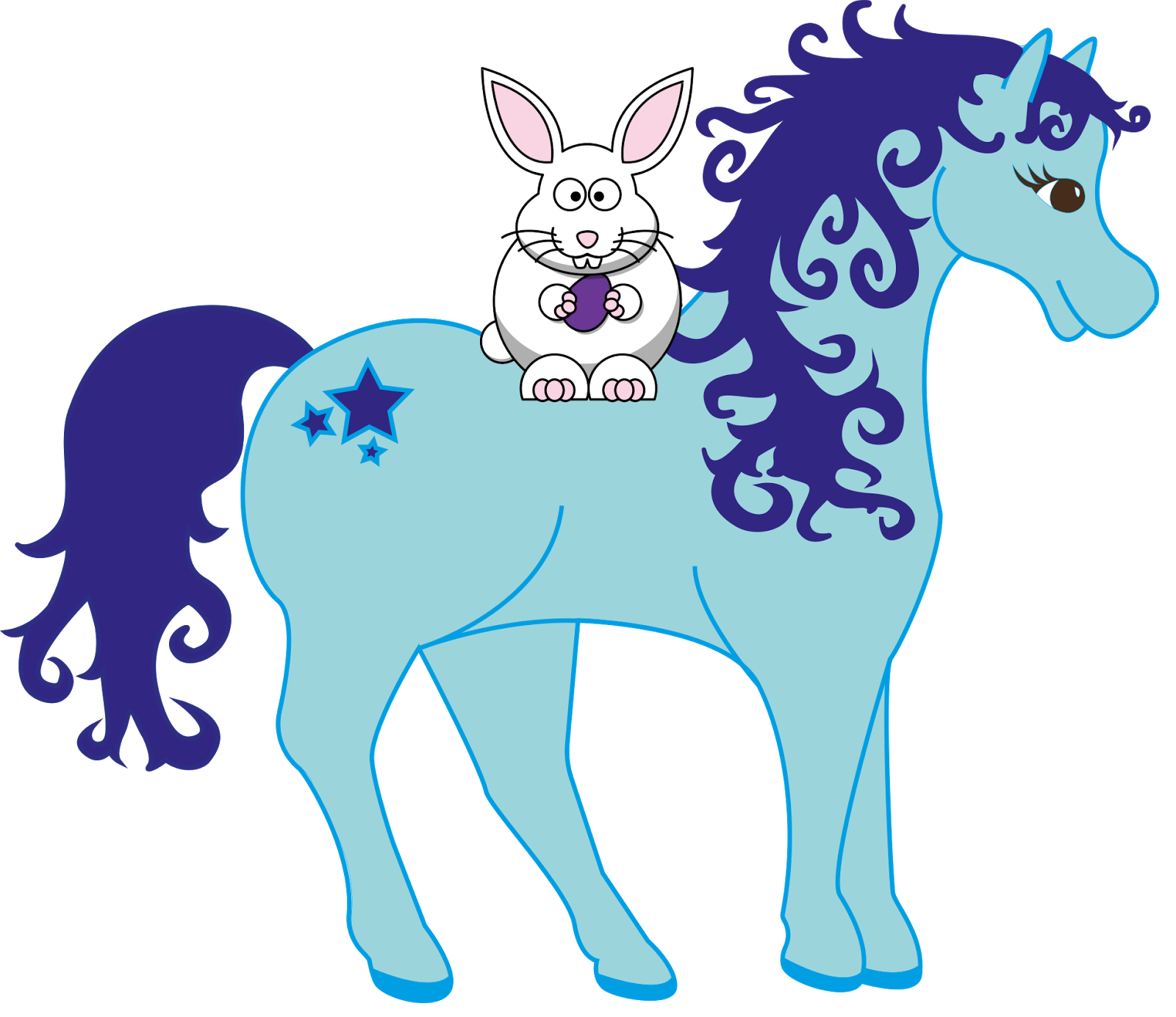 free horse easter clipart personal and commercial use rh everythinghorseandpony blogspot com clipart poney pony clip art for sale