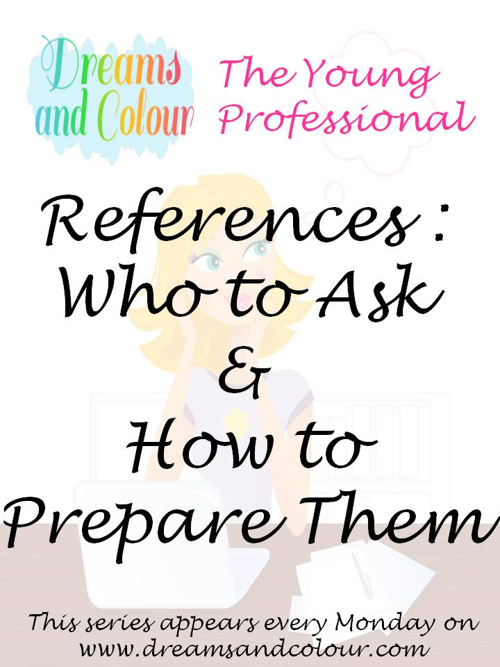 Dreams And Colour The Young Professional- References