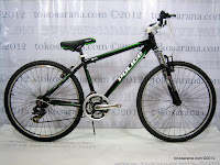 26 Inch Element 911 Police Quebec 21 Speed Shimano Tourney Mountain Bike MY2012
