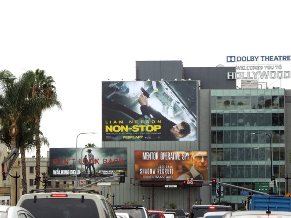 Giant Non-Stop movie billboard