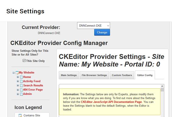 The New Territory: Adding a CKEditor plugin to DotNetNuke 8 0 4