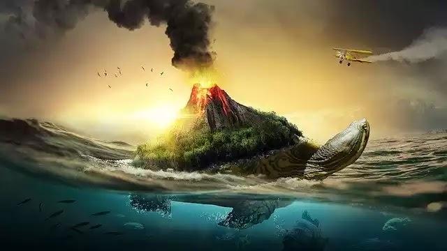 Ηφαίστεια στην Ανταρκτική κατώφλι στην Κούφια Γη