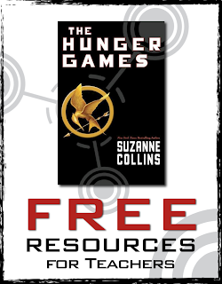 Hunger Games Freebies - Free Resources for Teachers