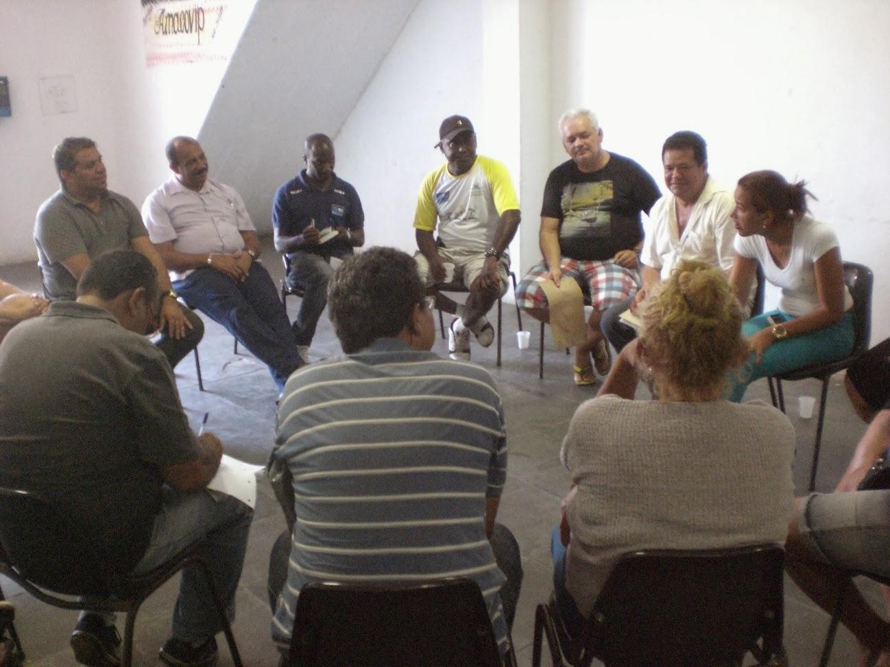 Encontro dos presidentes das Associações de Moradores do Conjunto de Favelas da Maré