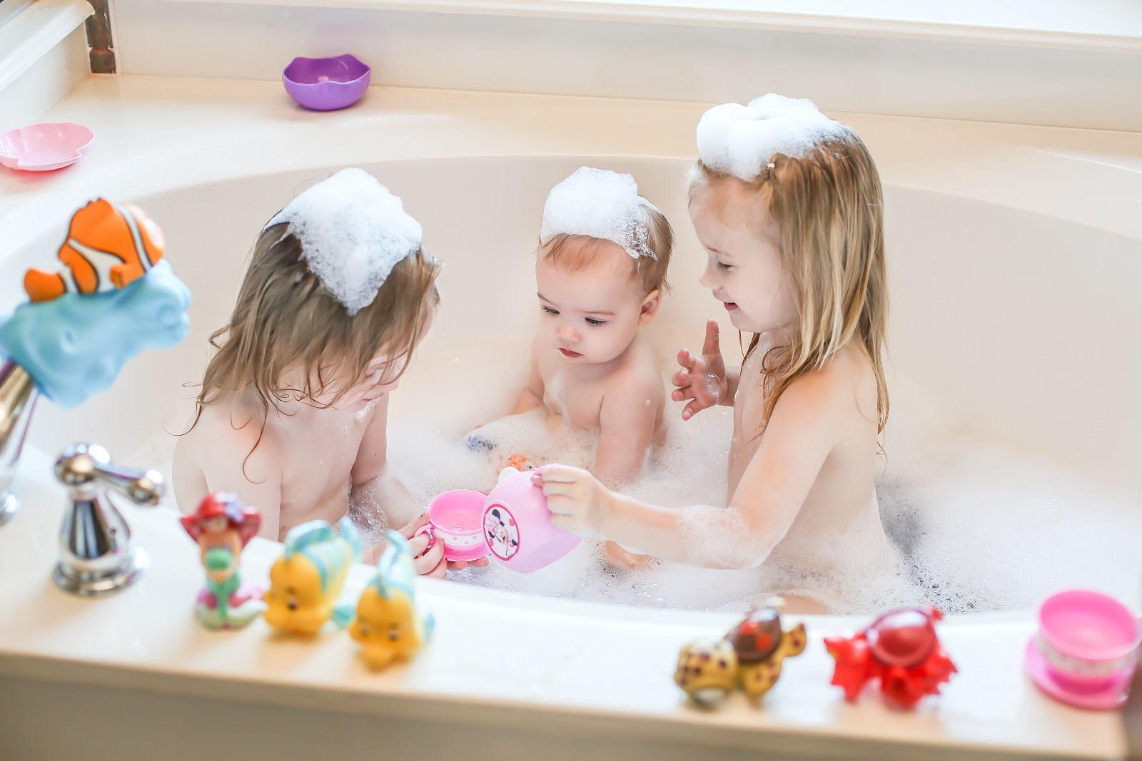 Pb J Babes Bubble Bath Fun With The First Years Disney Baby