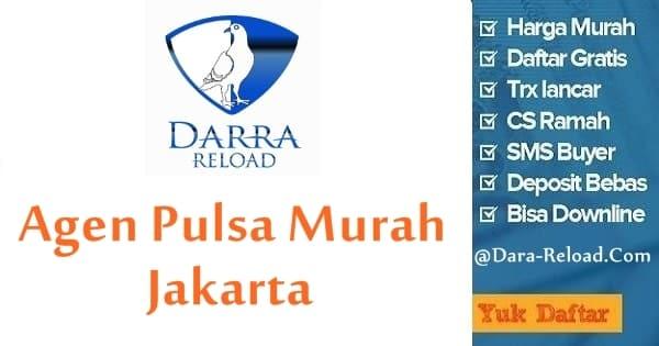 Cara Daftar Jadi Agen Pulsa Murah Jakarta di Darra Reload