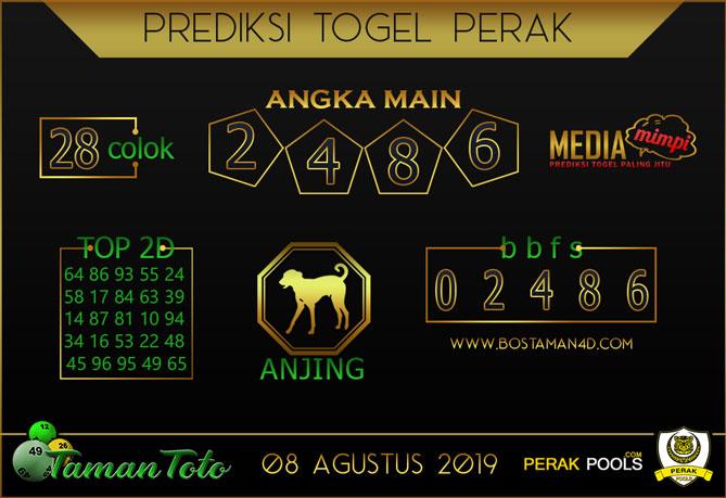 Prediksi Togel PERAK TAMAN TOTO 08 AGUSTUS 2019