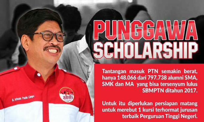 Abdi Merah Putih Gelar Bimbel  'Punggawa Scholarship'