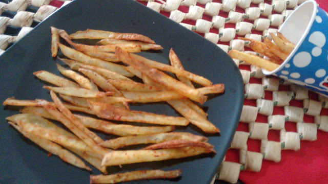 Baked Spicy French Fries