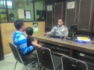 Anak di Pukuli Ayah Tiri, Suryadi Lapor Polisi
