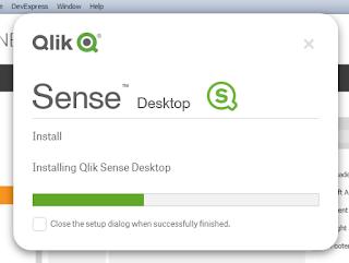 Cara menginstall Qlik Sense - Emboss Coder