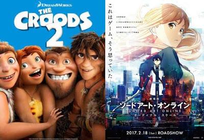 12 Film Animasi Terbaik dan Terbaru Tahun 2017, dari Animal Crackers sampai SAO Movie
