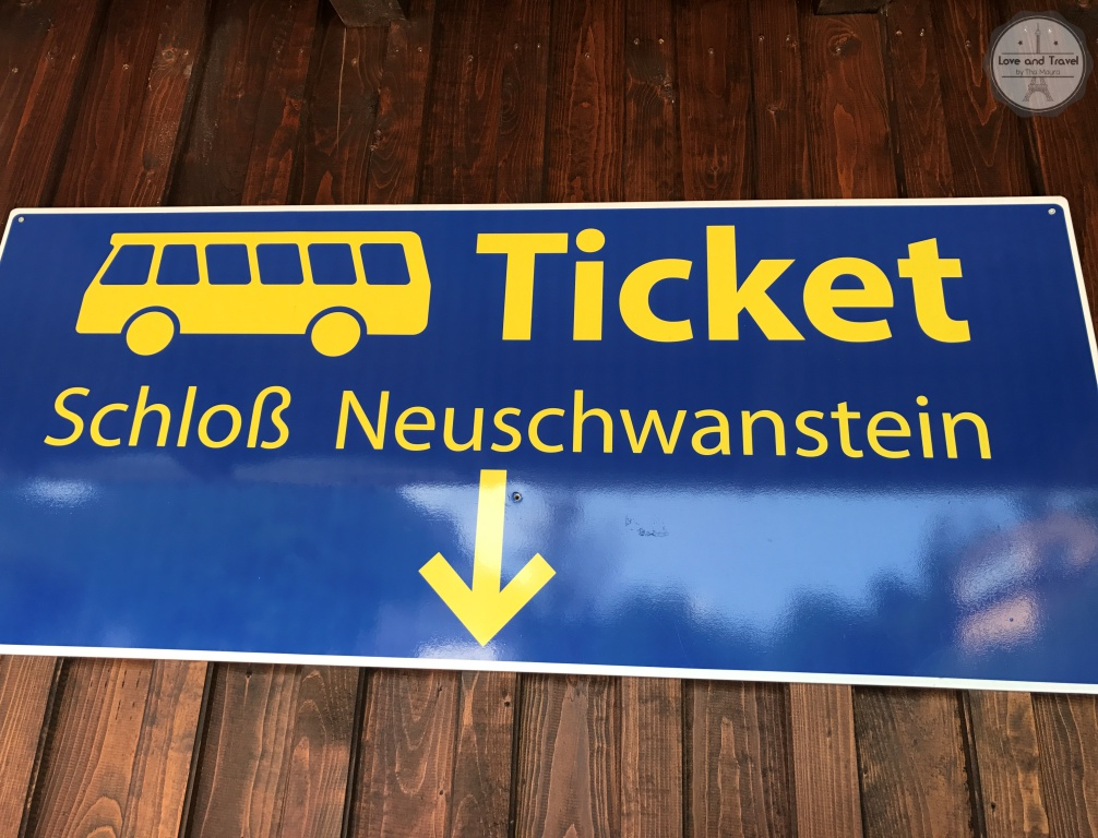 Castelo de Neuschwanstein na Alemanha Bus