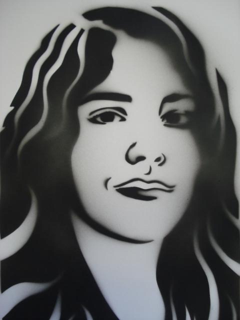 a faithful attempt Stencil Portraits