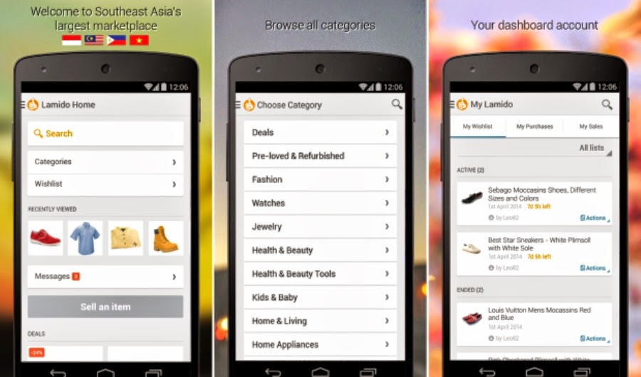 Lamido Philippines With Mobile Apps For Easy-Trusted Online