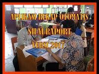 Download Aplikasi Rekap Nilai Raport Otomatis Versi 2017 Sesuai Juknis