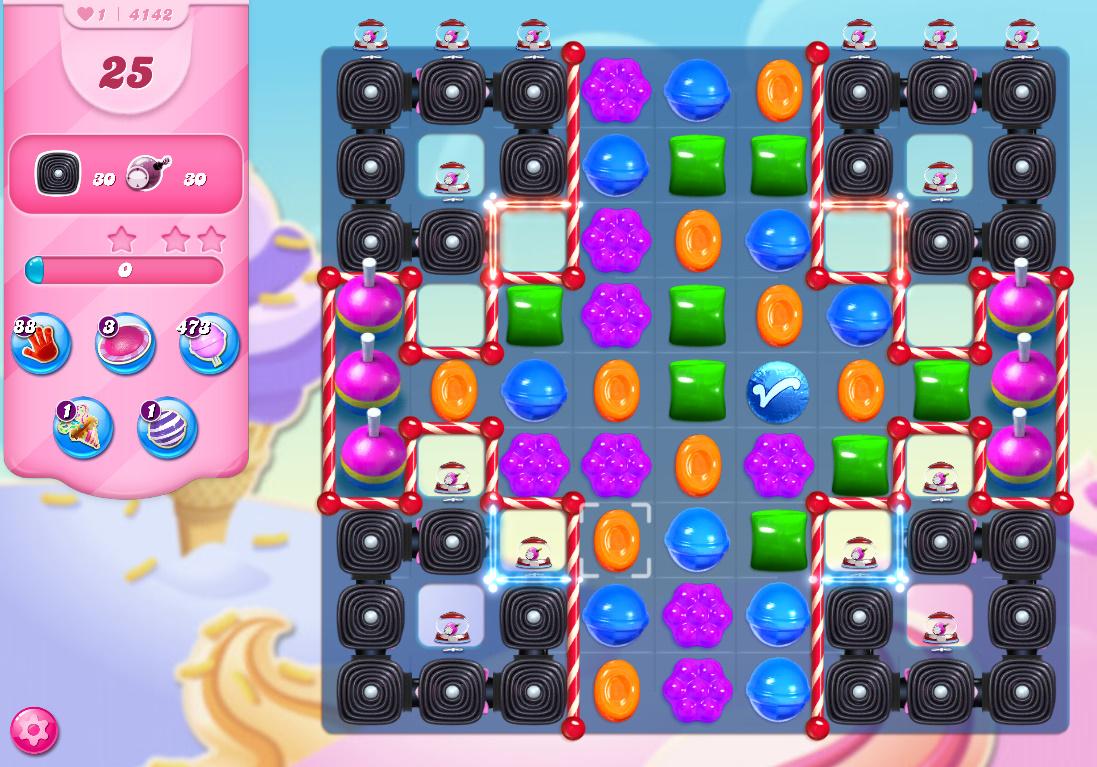 Candy Crush Saga level 4142